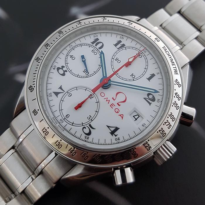 Omega Speedmaster Date Wristwatch Ref. 3515.20