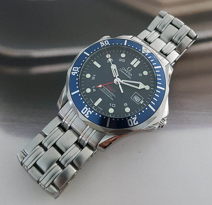 Omega Seamaster Diver 300M Co-Axial GMT Ref. 2535.80