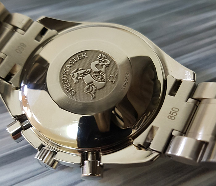 Omega Speedmaster Automatic Date Blue-Grey Ref. 3513.46