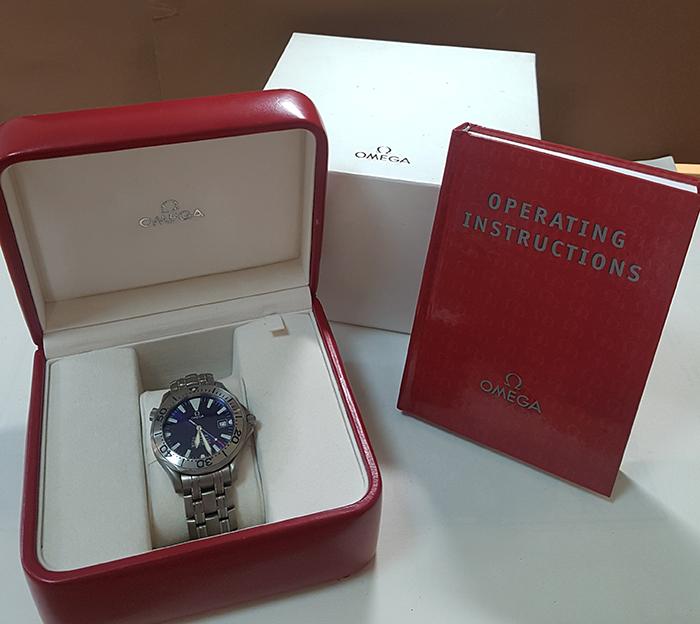 Omega Seamaster Professional 300M Chronometer Titanium Wristwatch Ref. 2231.80