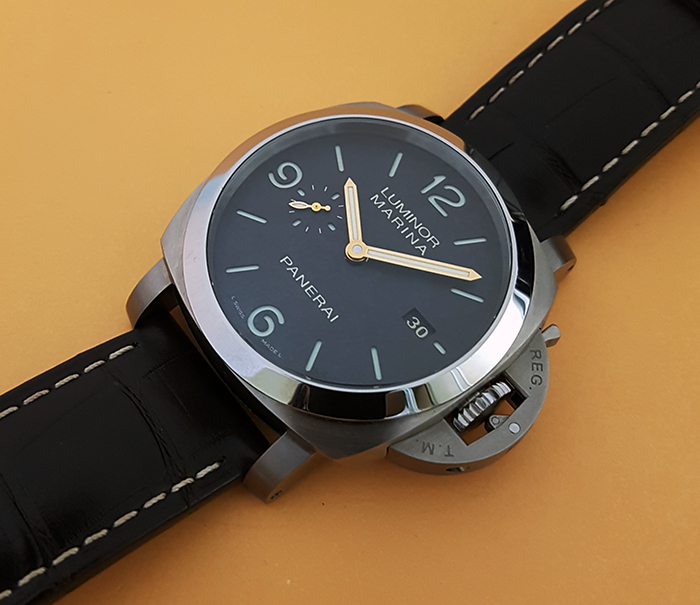 Panerai Luminor Marina 1950 3 Days Automatic Titanio Wristwatch Ref. PAM351