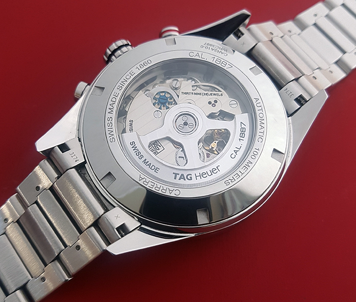 Tag Heuer Carrera Calibre 1887 Wristwatch Ref. CAR2A10-0