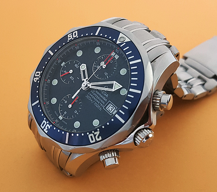 Omega Seamaster Professional Chronograph Wristwatch Ref. 2599.80