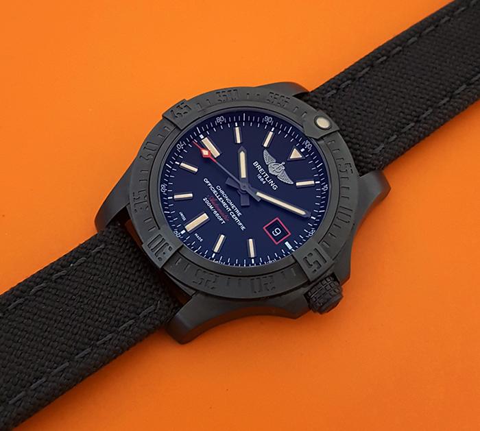 Breitling Avenger Blackbird 44 Titanium Wristwatch Ref. V17311