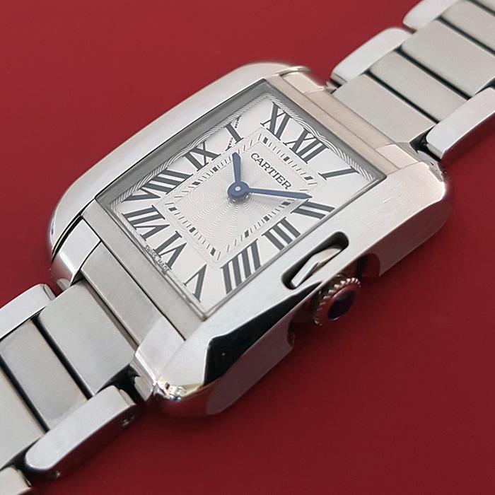 Cartier Tank Anglaise Small Ladies Wristwatch Ref. W5310022