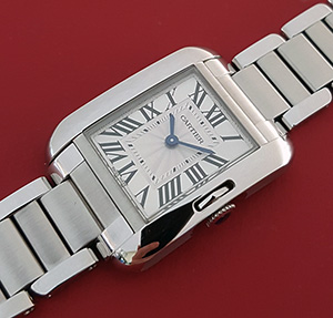 Cartier Tank Anglaise Small Ladies Wristwatch Ref. W5310022