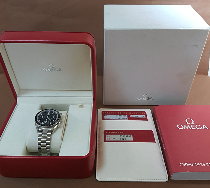 Omega Speedmaster Reduced Automatic Wristwatch Ref. 3539.50