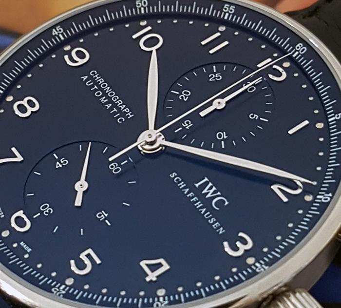 IWC Portugieser Black Dial Wristwatch Ref. IW371438