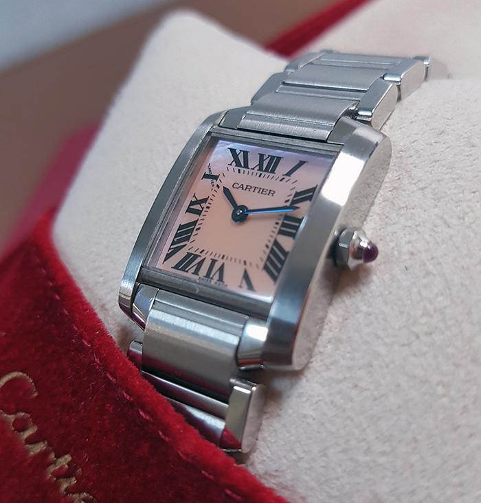 Cartier Tank Française Ladies Wristwatch
