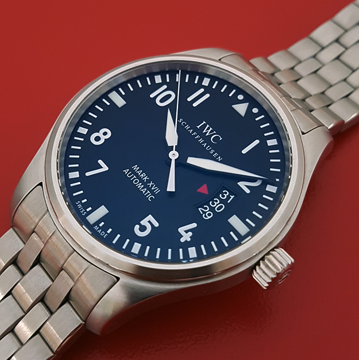IWC Pilots Mark XVII Automatic Fliegeruhr Wristwatch Ref. IW326504