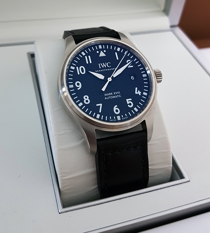 IWC Pilot's Watch Mark XVIII Wristwatch Ref. IW327001