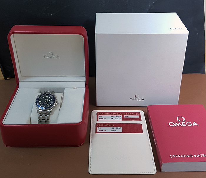 Omega Seamaster Co-Axial Midsize Ref. 2222.80