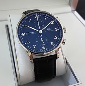 IWC Portugieser Chronograph Wristwatch Ref. IW3714