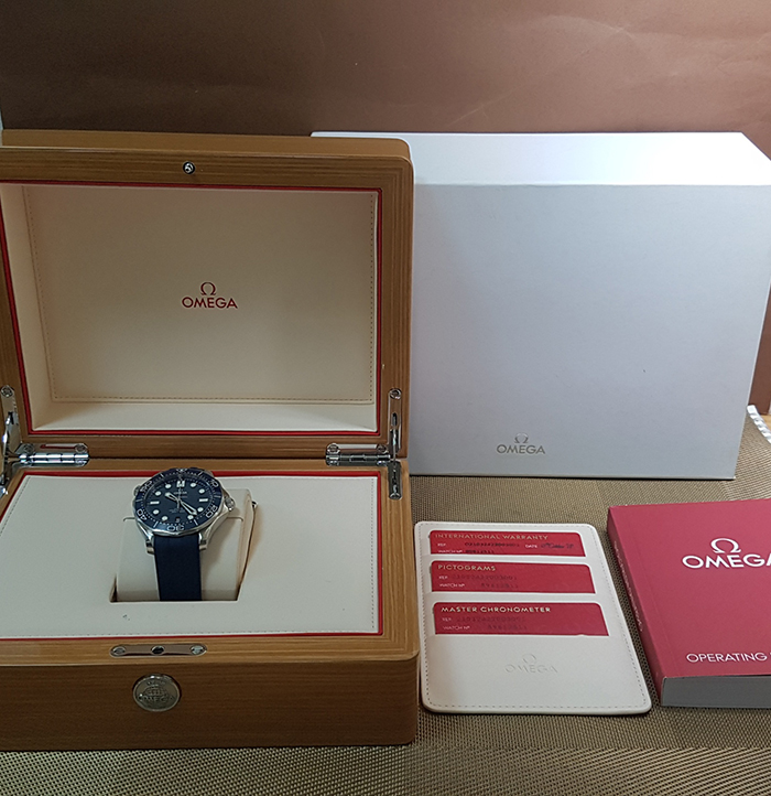 Omega seamaster Diver 300M Co-Axial Master Chronometer Wristwatch Ref. 210.32.42.20.03.001