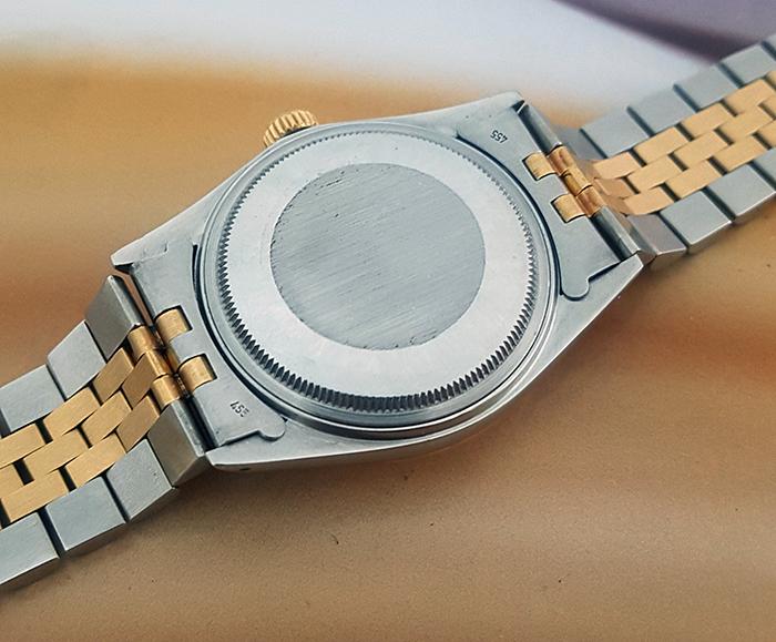 1988 Rolex Oyster Perpetual Datejust Wristwatch 18K YG/SS Ref. 16013