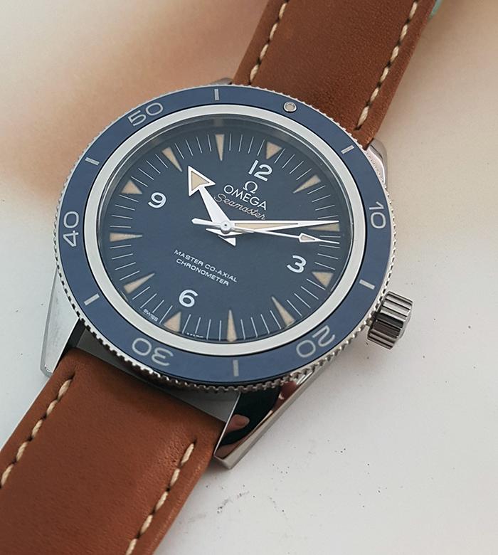 Omega Seamaster 300 Master Co-Axial Titanium Wristwatch Ref. 233.92.41.21.03.001