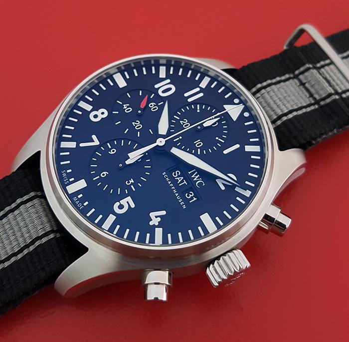 IWC Pilot's Chronograph Wristwatch Ref. IW377709