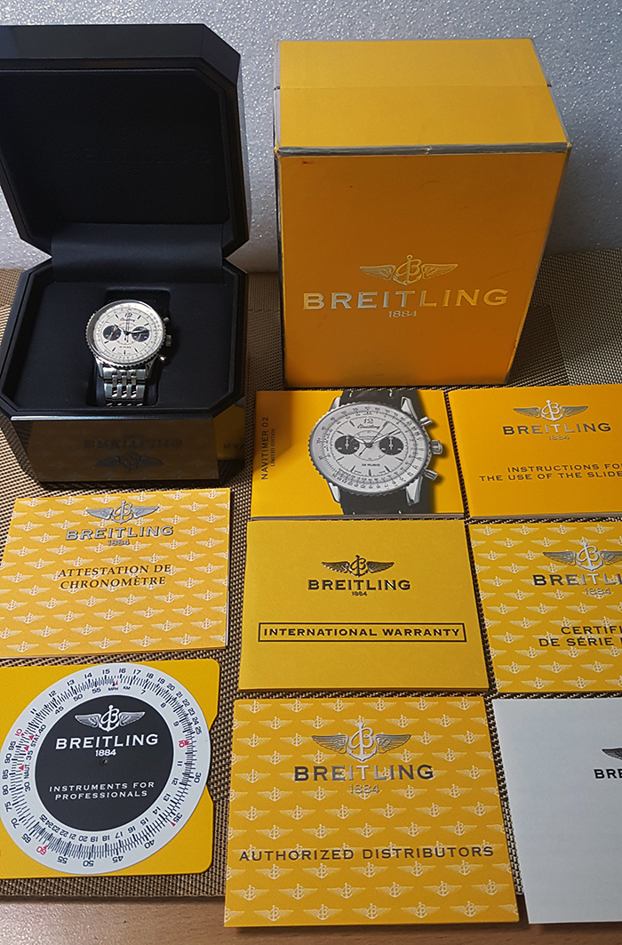 Breitling Navitimer 02 Japan Limited Edition Wristwatch Ref. A473G42NP