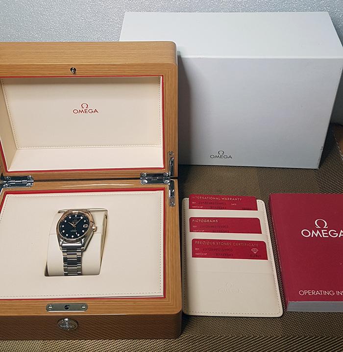 Omega Seamaster Aqua Terra 150M Co-Axial Wristwatch Ref. 231.20.39.21.51.003