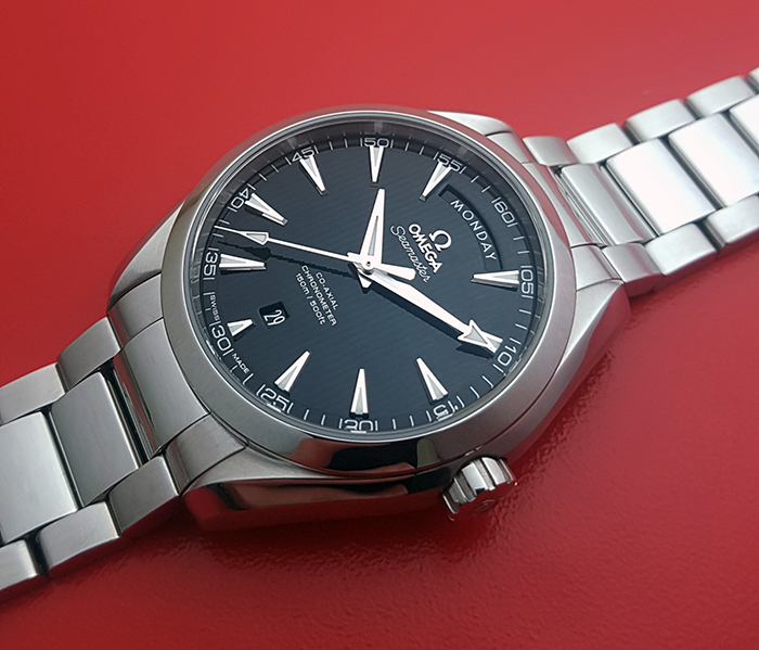 Omega Seamaster Aqua Terra 150M Co-Axial Day-Date Wristwatch Ref. 231.10.42.22.01.001