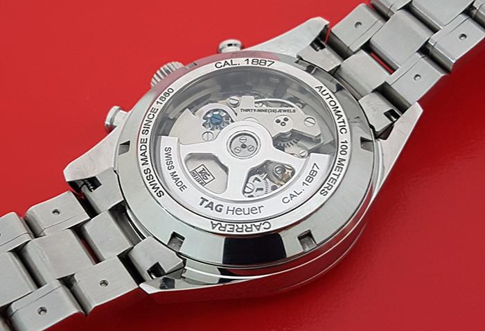 Tag Heuer Carrera Wristwatch Ref. CAR2110-4