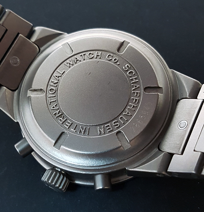 IWC Titanium Wristwatch Ref. 7865943