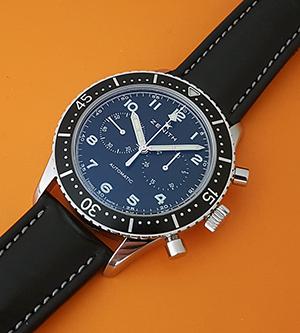 Zenith Cronometro Tipo Pilots Wristwatch Ref. 03.2240.4069/21.C774