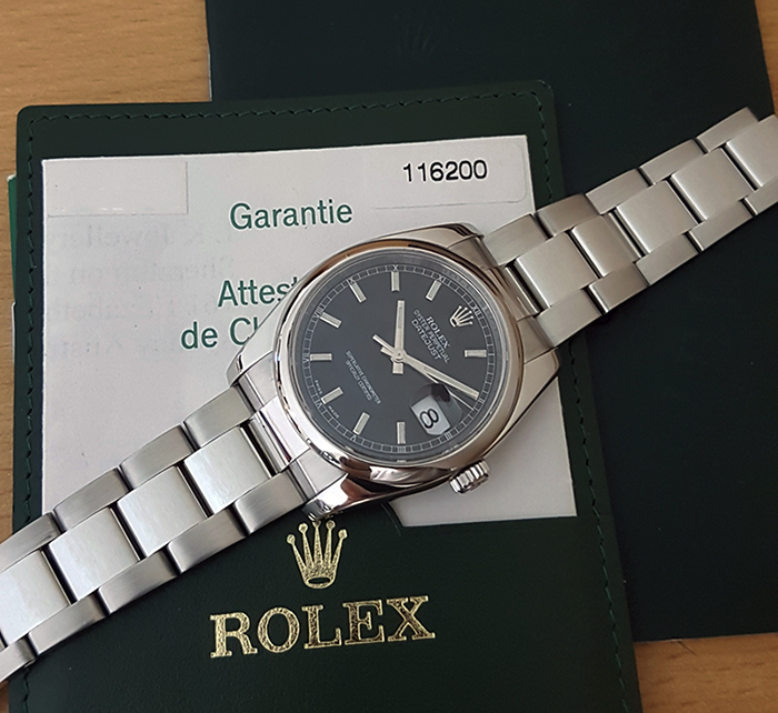 Rolex Oyster Perpetual Datejust Ref. 116200