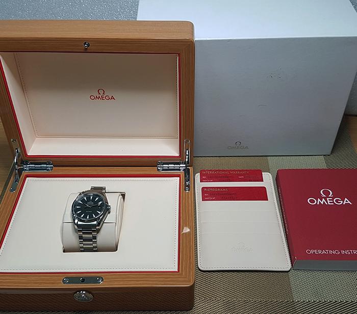 Omega Seamaster Aqua Terra Quartz Wristwatch Ref. 231.10.39.60.06.001