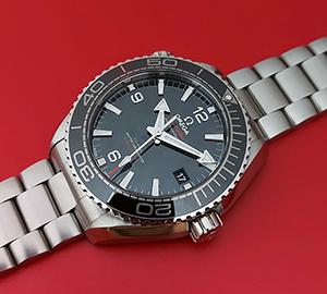 Omega Seamaster Planet Ocean Master Wristwatch Ref. 215.30.44.21.01.001