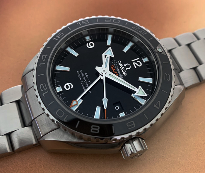 Omega Seamaster Planet Ocean 600M Co-Axial GMT Ref. 232.30.44.22.01.002