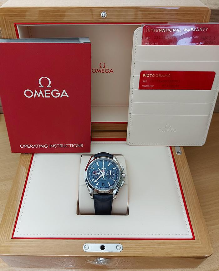 Omega Seamaster Aqua Terra 150M Co-Axial Chronograph Ref. 231.13.43.52.03.001