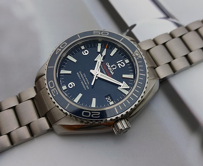 Omega Seamaster Planet Ocean 600m Titanium Wristwatch Ref. 232.90.42.21.03.001