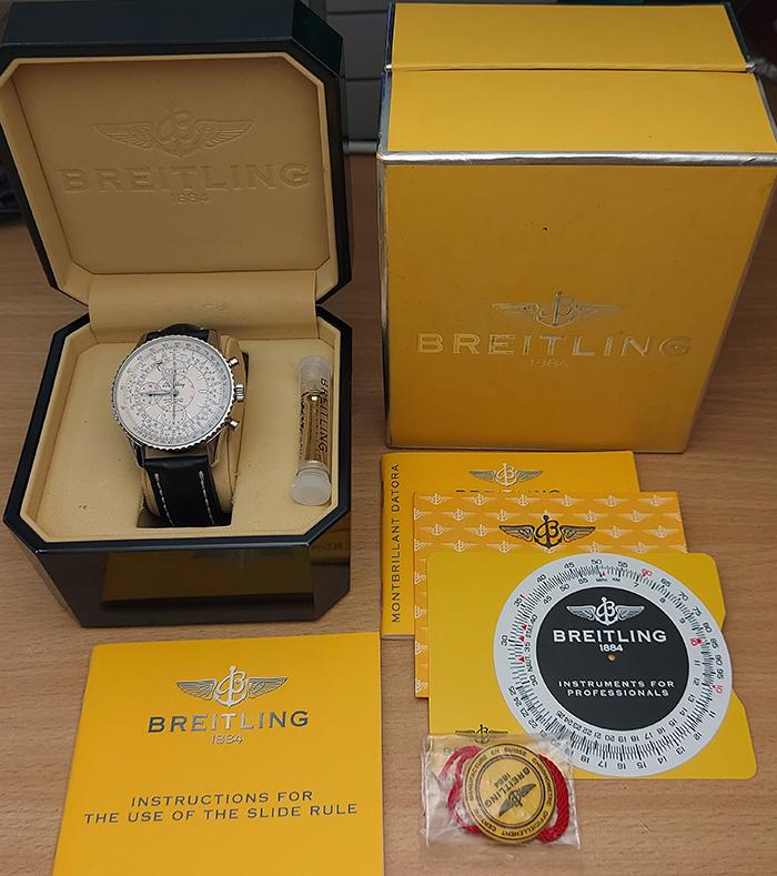 Breitling Montbrillant Datora Wristwatch Ref. A21330