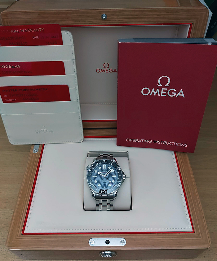 Omega Seamaster Diver 300M Co-Axial Wristwatch Ref. 210.30.42.20.01.001