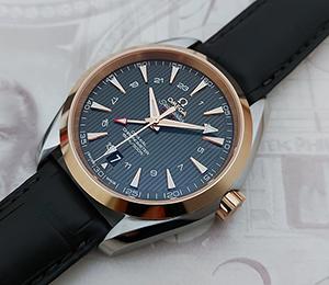 Omega Seamaster Aqua Terra Co-Axial GMT Wristwatch Ref. 231.23.43.22.06.001