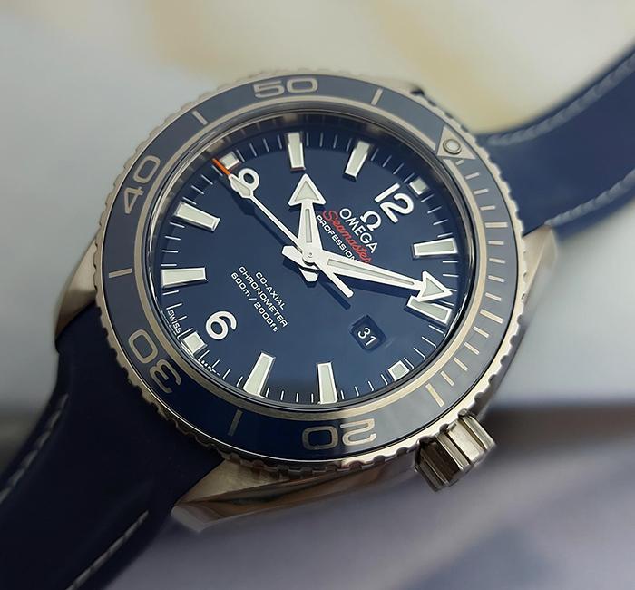 Omega Seamaster Planet Ocean 600M Co-Axial Titanium Wristwatch 38mm Ref. 232.92.38.20.03.001
