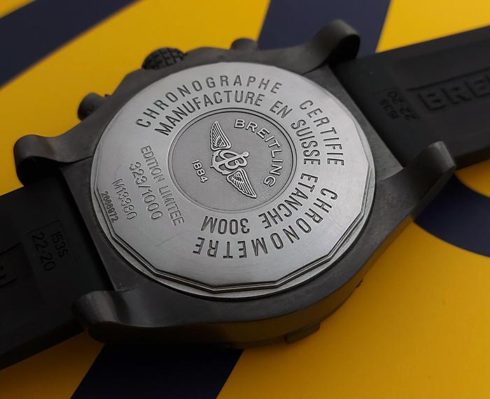 Breitling Avenger Skyland Black SteelLimited Edition Ref. M13380
