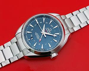 Omega Seamaster Aqua Terra 150M Co-Axial GMT Wristwatch Ref. 231.10.43.22.03.001
