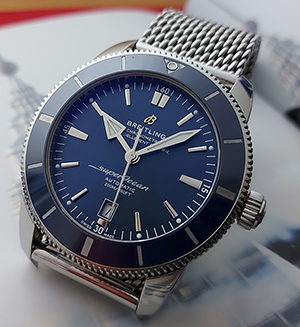 XL Breitling SuperOcean Heritage II 46 Wristwatch Ref. AB2020