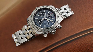 Breitling Blackbird Chronomat Wristwatch Ref. A13350