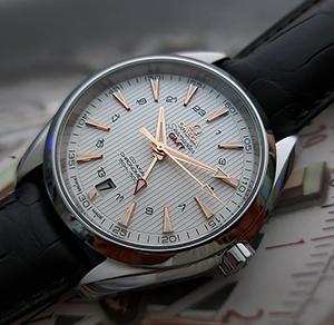 Omega Seamaster Aqua Terra 150M Co-Axial GMT Wristwatch Ref. 231.13.43.22.02.004