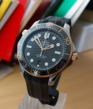 Omega Seamaster Diver 300M Co-Axial Wristwatch Ref. 210.22.42.20.01.002