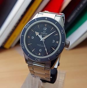 Omega Seamaster 300 Master Co-Axial Titanium Wristwatch Ref. 233.90.41.21.03.001