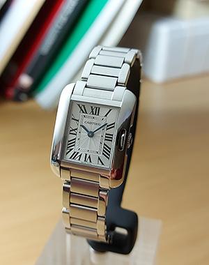 Ladies' Cartier Tank Anglaise Small Ladies Wristwatch Ref. W5310022