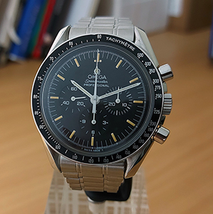 1997 Omega Speedmaster Professional Moonwatch 3592.50