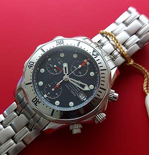 Omega Seamaster Divers Chronograph 300M Wristwatch Ref. 2598.80