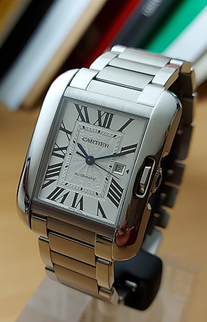Cartier Tank Anglaise Large Wristwatch Ref. W5310009