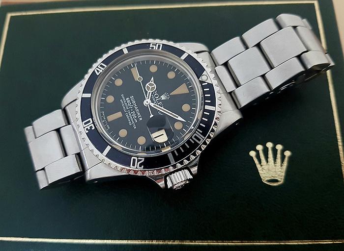 1978 Rolex Submariner Wristwatch Ref. 1680