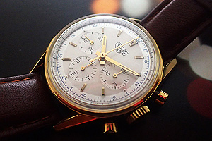 TAG Heuer Carrera CS3140 Solid 18kt Gold